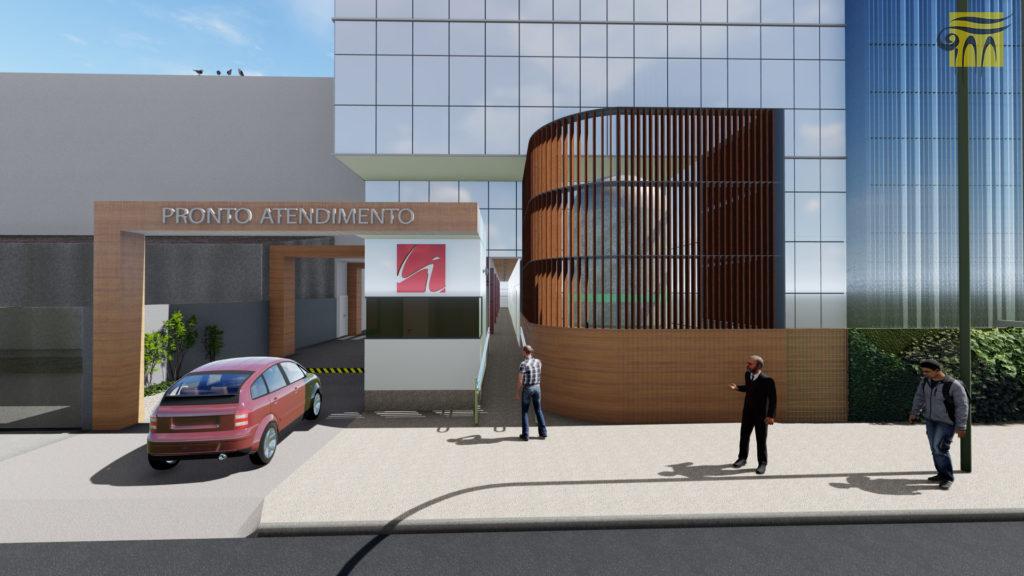 Projeto do Novo Hospital IGESP Grupo Trasmontano